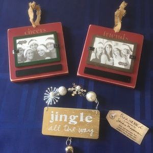 Adorable Rustic NWT Ornaments